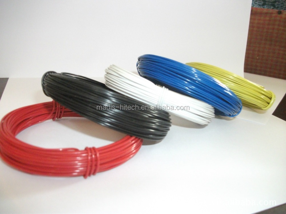 cheap price hot sale plastic Best Quality pvc coated iron wire with different colour for mesh or agriculture