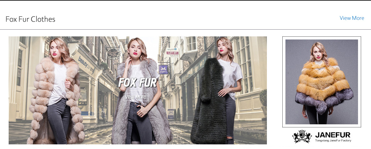 6f4308bc17 Fashion Wholesale Custom Colorful Women Long Winter Genuine Real Fox Fur  Coat