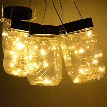 10 Warm White Leds Outdoor String Fairy