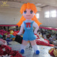 Outdoor Comicon use inflatable giant anime cartoon girl