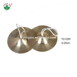 oem professional Percussion Instrument istanbul turkish tibetan b20 blank practice hand cymbal