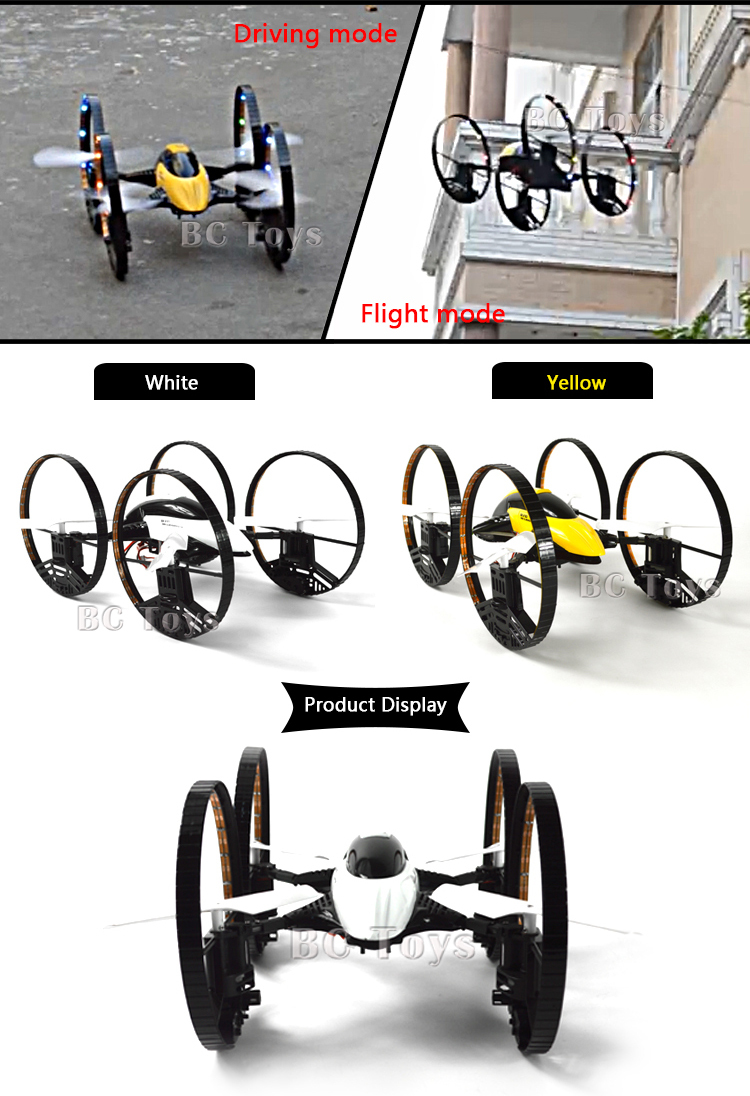 Top Selling 2.4g 4ch Drone Can Flying And Walking Toys Radio ...