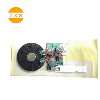 Popular Prerecording Recordable Greeting Card Sound Chips Sound Module for Toys