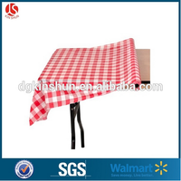 High Quality Banquet /Party decor Table Cover Plastic Table Cover /tablecloth