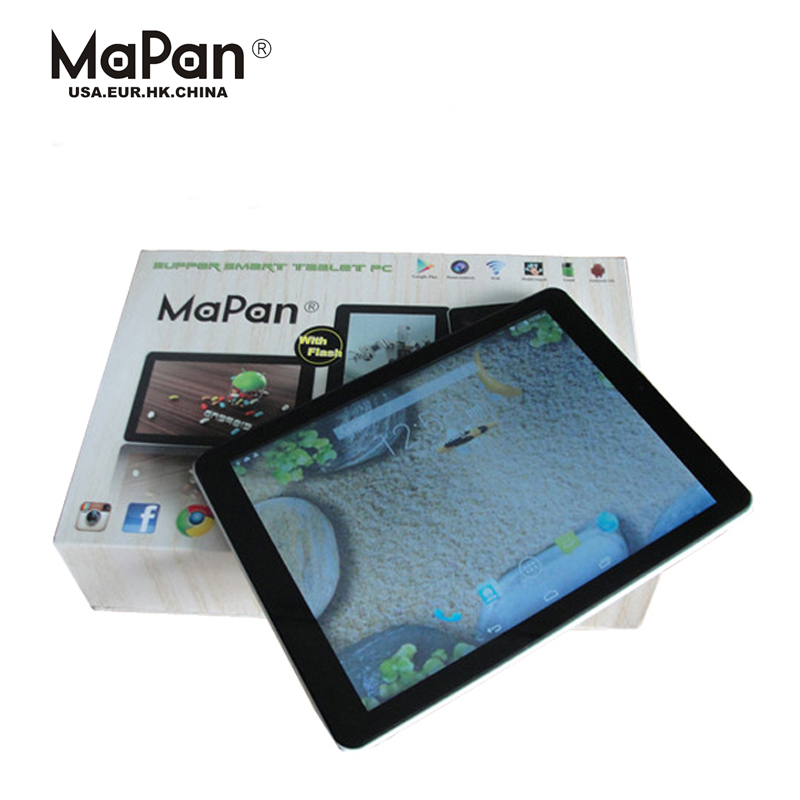 tablet 3g quad core 1GB/16GB cheap big screen android phone 9.7inch mapan tablet pc