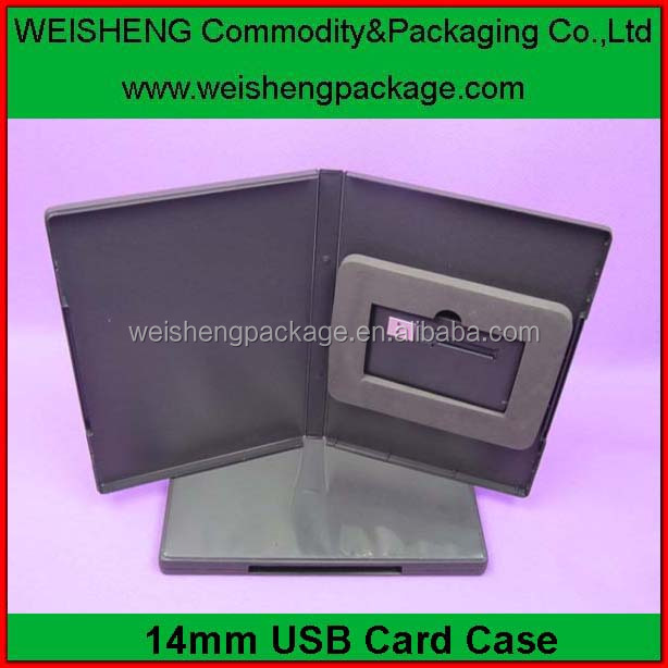 Cheap custom printed wedding usb gift boxes with CD/DVD box