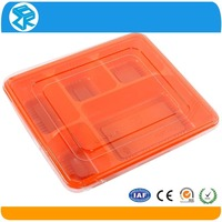 plastic wholesale eco friendly disposable japanese bento storage box