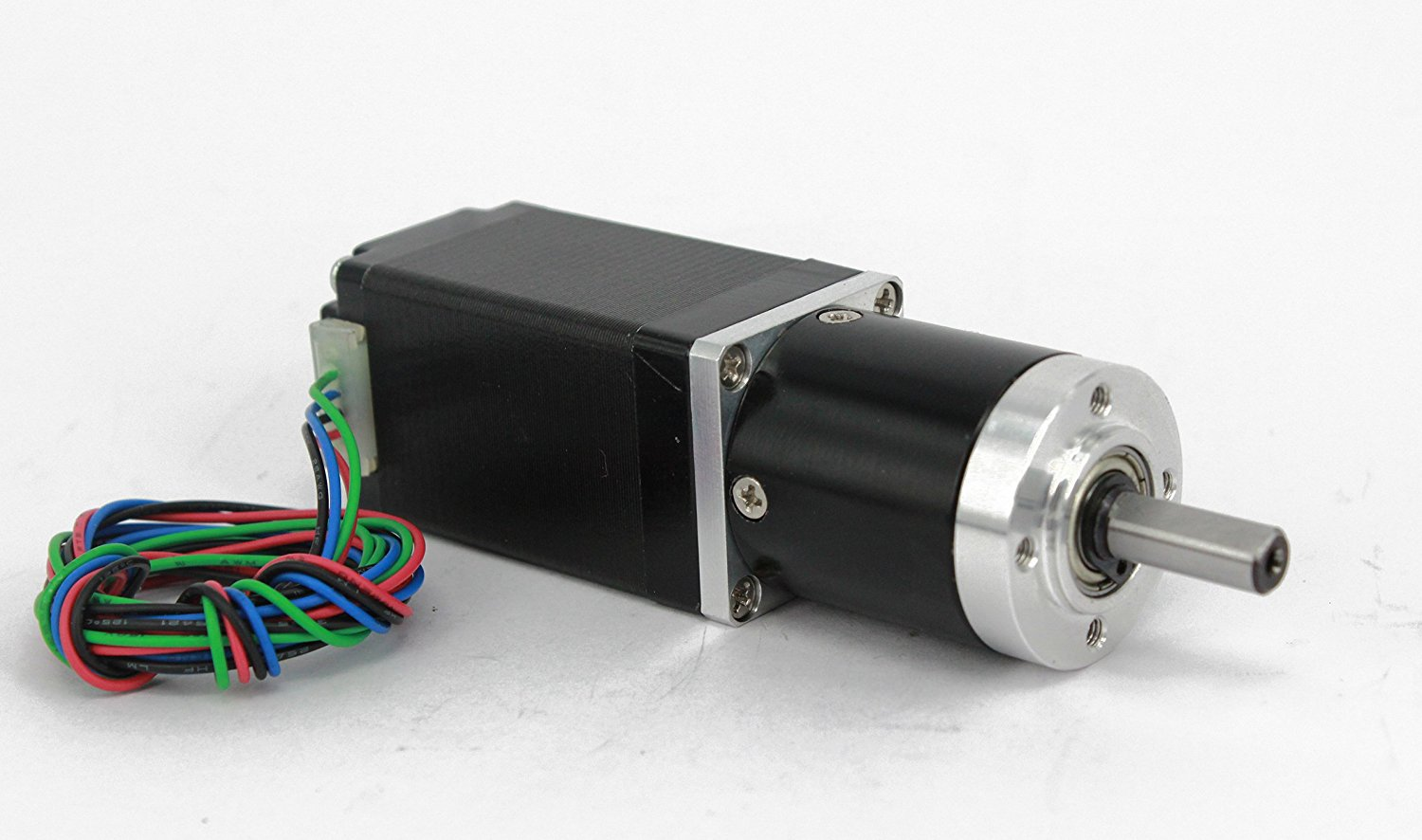 Gear Stepper Motor NEMA 11 L=50mm with Planetary Gearbox Ratio 9~20:1 (Ratio 20:1)