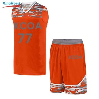 Design Loose Uniform On Color Alibaba Product Combination Orange custom - Latest Basketball Jersey Jersey Buy com latest