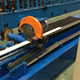 PU roller shutter slat roll up door panels rolling forming machine