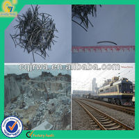 concrete reinforcing steel fiber, railway track materials