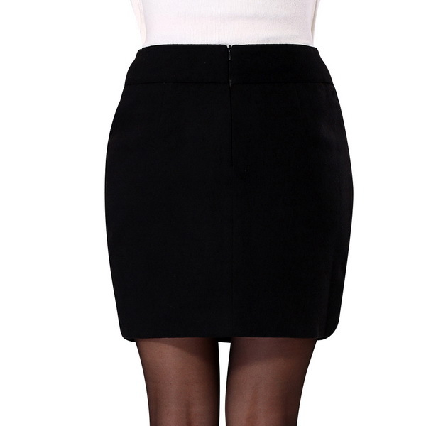 1aa23e86a05 Get Quotations · 2015 Autumn Woman Woolen Mini Skirts Office Clothing Size S-2XL  Classic Fashion Brand Solid