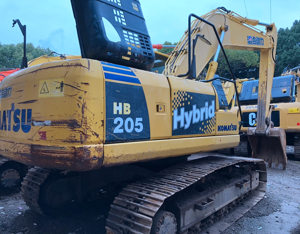 Good Performance Used Komatsu Excavator HB205 made in Japan / USA, Construction Equipment for hot sale