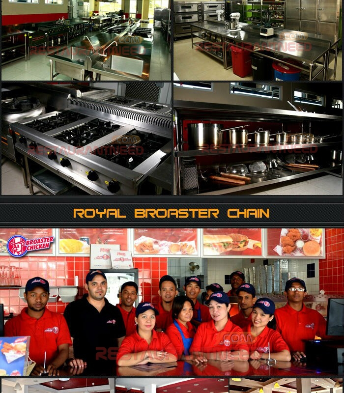 Professional Electric and Gas Equipment Restaurant