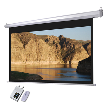 Competitive Cinema Projector Price/Luxury Home Theater Tab Tensioned Screen /Motorized Projector Screen