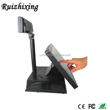 Flat touch screen pos system cash register restaurant billing machine