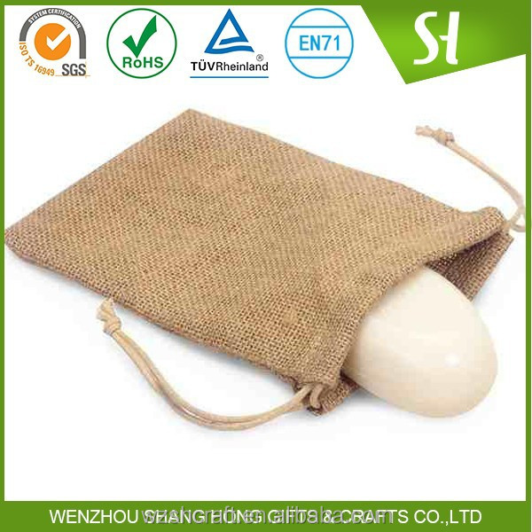 Cheap Factory Customized jute sack bags/recycled rice sack bags/tea packing jute bags