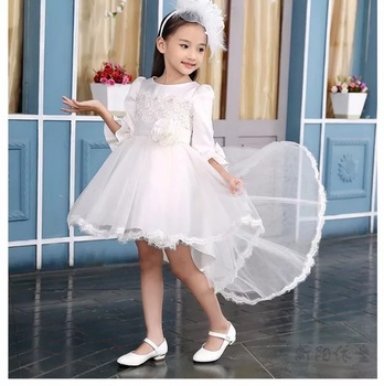 Hot dress white pretty girls clothing flower girl dress baby cotton hot dress white pretty girls clothing flower girl dress baby cotton frocks designs for teenager mightylinksfo