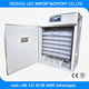 Best selling automatic egg incubator and hatcher for 756 turkey eggs