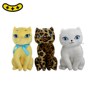 2018 best selling Kawaii Cat Plush Toys Stuffed Cute Animal Cat Doll Lovely Birthday Gift