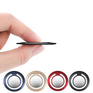 New custom LOGO mobile phone creative bracket phone ring magnetic car flag ring holder for company gifts