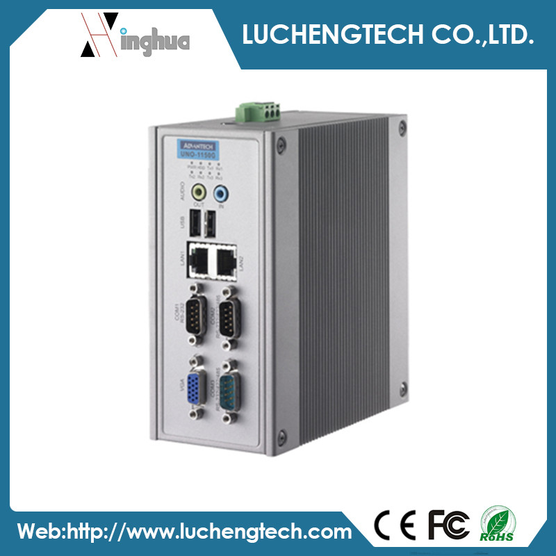 Advantech AMD Geode LX800 DIN-rail mounted PCs UNO-1150G-G30E