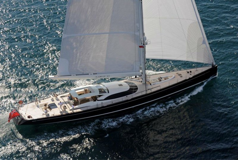 50 feet sailing yacht