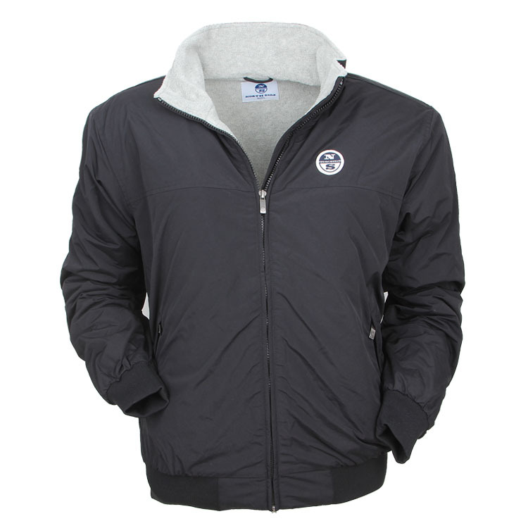 winter men's fleece lined sailing jacket good price and