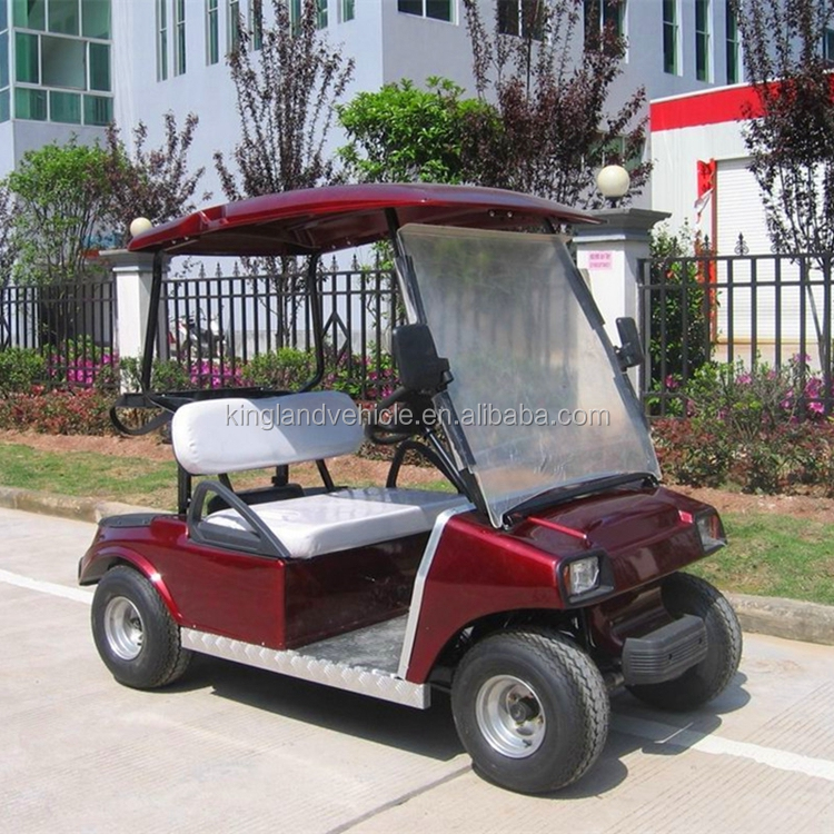 low speed electric vehicle 4-wheel electric vehicle chinese electric car 2 passengers club golf car for sale