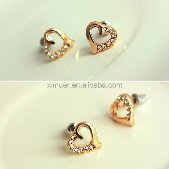 New Design Jewelry Earrings Fashion Gold Earring