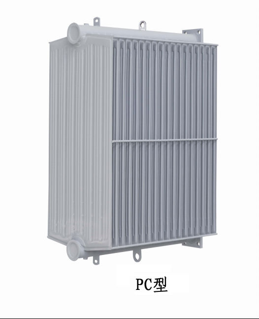 Hot dip galvanized/chrome radiator
