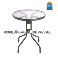 CB-TG005 Round Tempered Glass Table