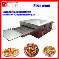 Widely Used Gas Electric Fast Food Gas Pizza Oven Conveyor Pizza Oven For Sale