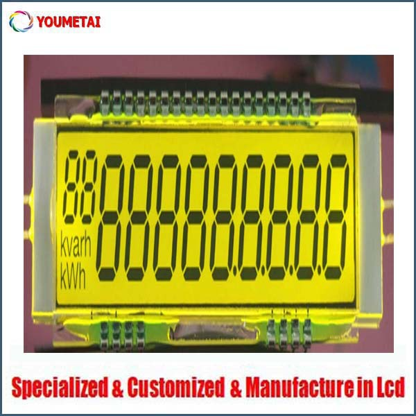 best price supply 7 segment 30 pin lcd , welcome bulk order