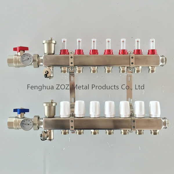 Underfloor Heating Manifold & Manifolds for Under Floor Heating Systems
