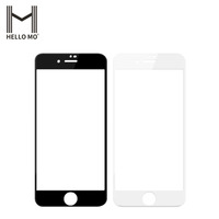 Factory Price High Quality 6D Full Cover Edge Easy Install Bubble Free Tempered Glass Screen Protector for iphone 7 / 8