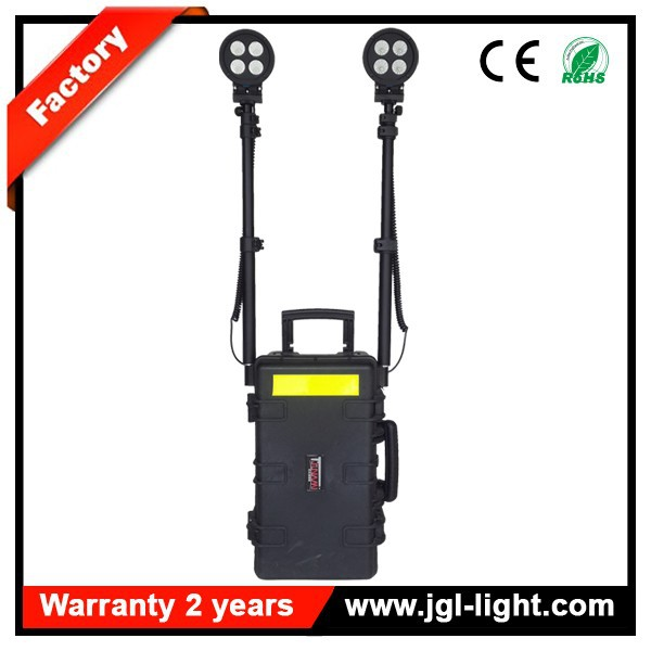 With durable tool case remote area light system RLS-80W portable fire fighting rescue light