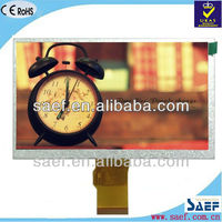 industrial TFT LCD module 7 inch touch screen digitizer for auto electronics