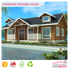 Wood Prefab House Log Home for Holiday Resort Factory Direct Sales Wooden House KPL-013