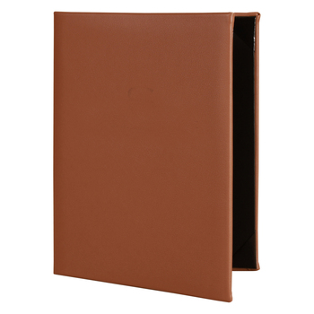 bifold leather material restaurant a4 menu cover