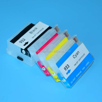 4 Color Refill Ink Cartridge For HP Officejet 6100 6600 6700 7610 7110 7612 Printer