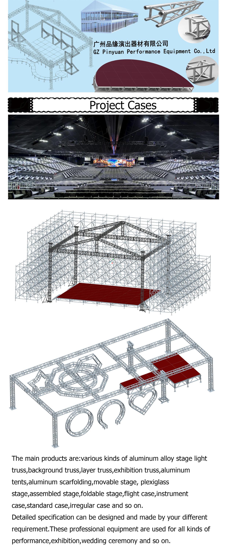 Top Qualität 290mm Aluminium Rahmen Truss Struktur/event Aluminium ...