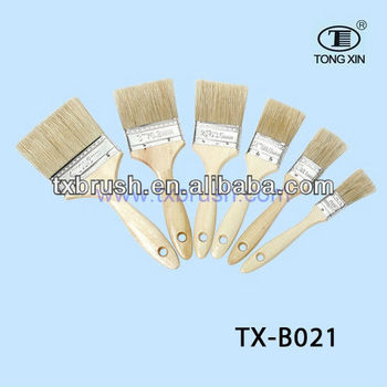 The Best Quality Wooden Handle Paint Brush Tx B021 Buy Wooden Handle Paint Brush Flat