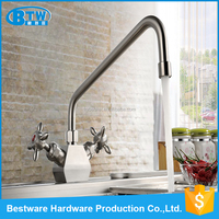 EN 200 Test Report S/S 304 Satin Finish Natural Color Kitchen Faucet Mixer