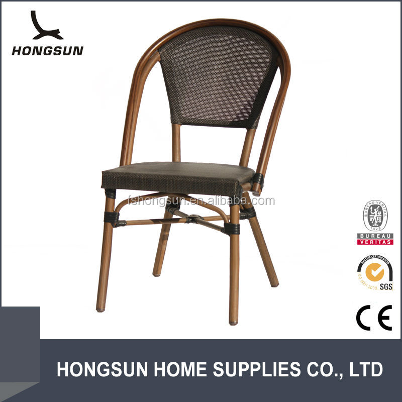 outdoor rattan furniture popular bamboo look fabric chairs