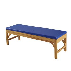 CE/ FDA Certificate Factory Produced Wooden Frame Examination Bed, Hospital& Clinic Use