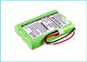 Battery2go - 1 year warranty - 3.6V Battery For Agfeo Elmeg DECT 300, 84743411, DECT 30, DECT C45, 23NO09TT30, DECT 400-20