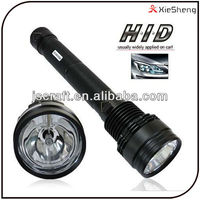 85w 75w 65w 50W 38w Xenon 6600mAh battery rechargeable hid flashlight