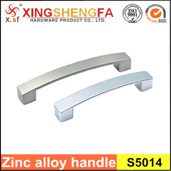 modern kitchen cabinet handle zinc material made in china