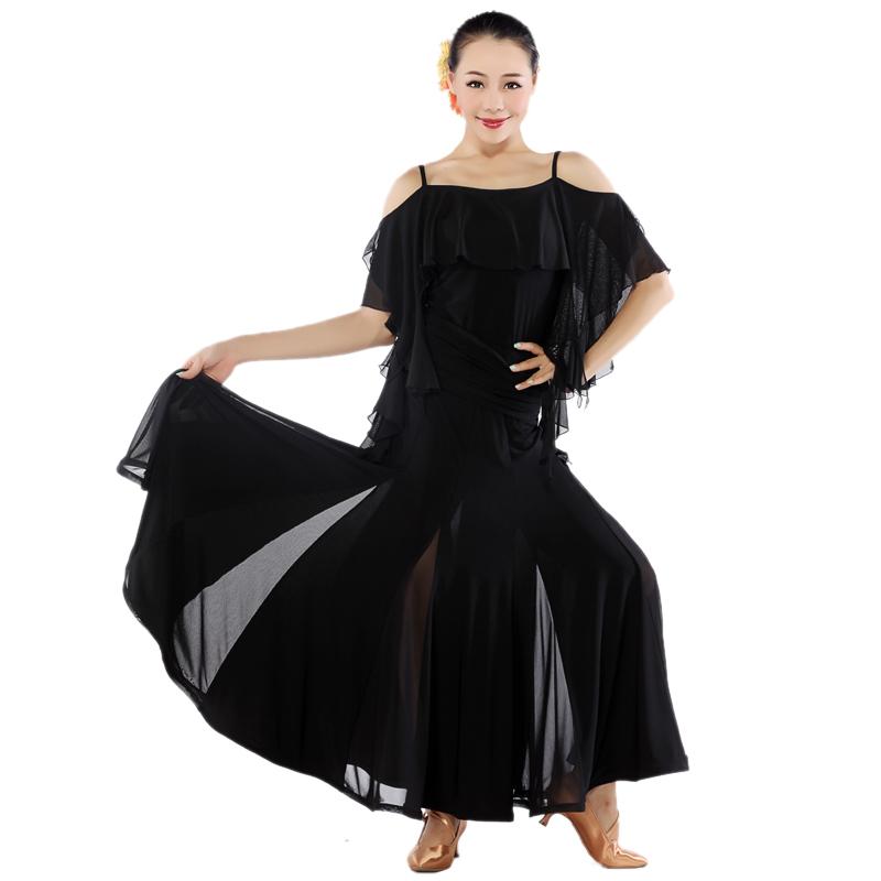 53c97a3db21f AAW 2015 new sexy ballroom dress competition halter women ballroom dancing  dress waltz big swing ballroom dress women